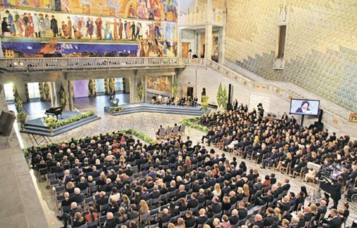 ICANに「ノーベル平和賞」〜オスロ授賞式にSGI代表も出席〜