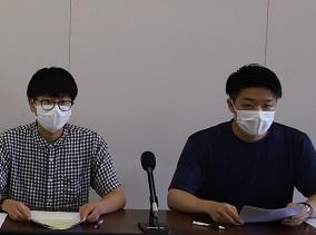 「学生平和意識調査」記者会見を行いました